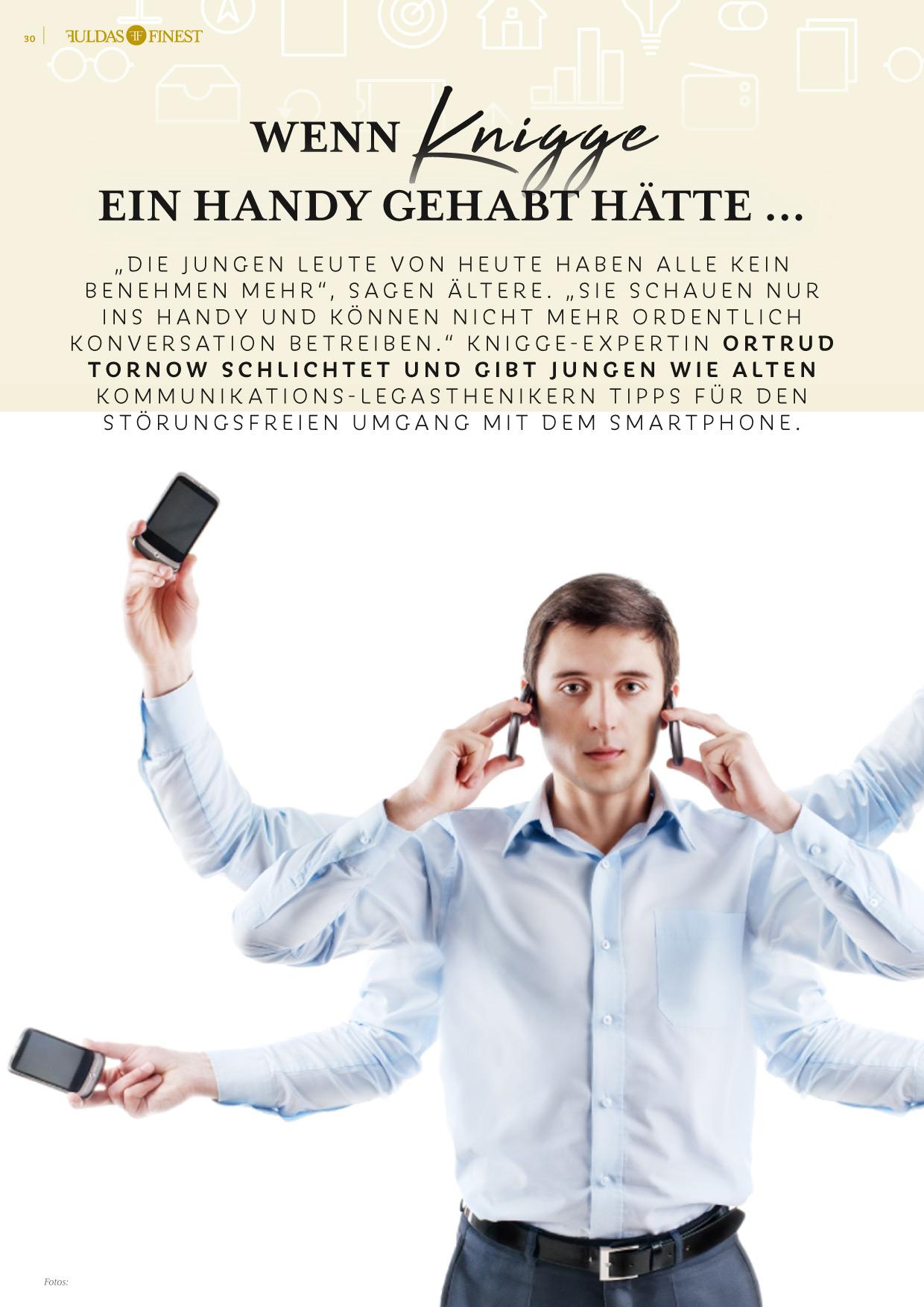 Smartphone-Knigge von Ortrud Tornow